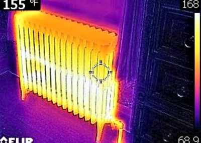 Expected View Of Radiant Heating Unit