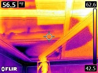 Water Leak Above Drop Ceiling