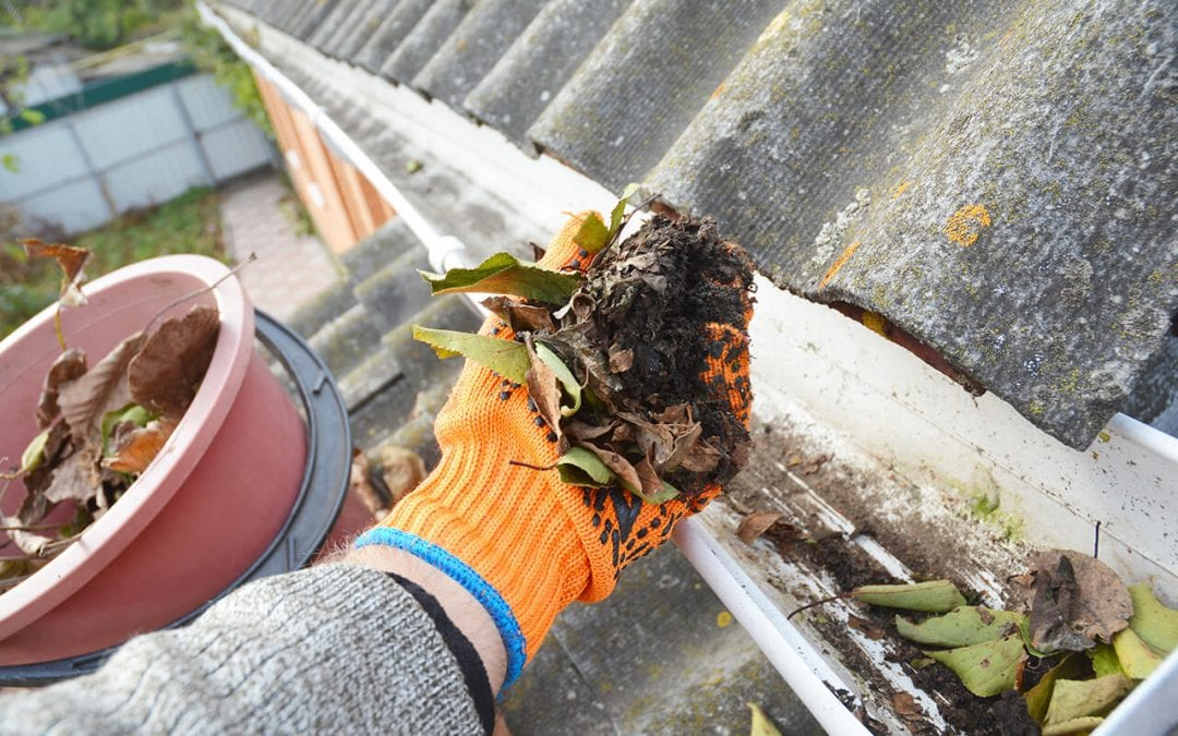 benefits of cleaning gutters