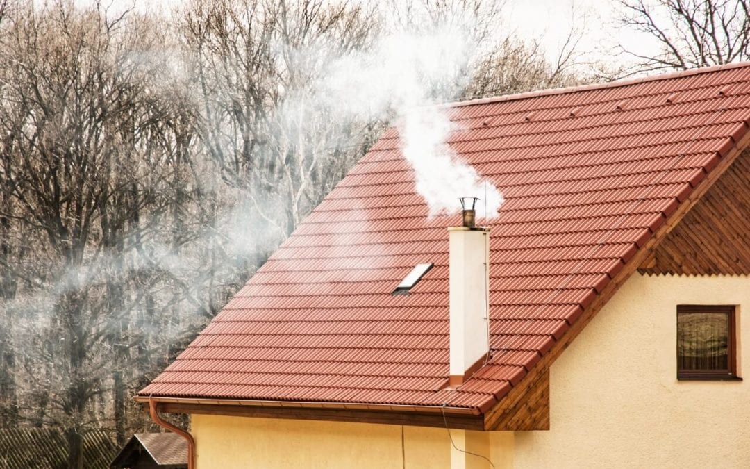 reduce the risk of chimney fires by keeping the chimney clean